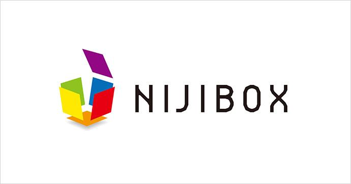 ニジボックス ロゴ