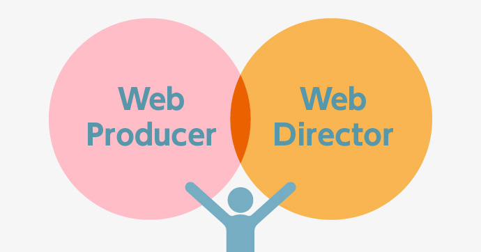 Webプロデューサー Webディレクター 比較