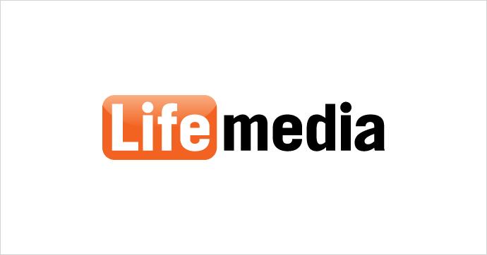 ライフメディア ロゴ