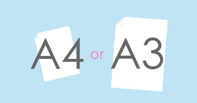 A4 A3