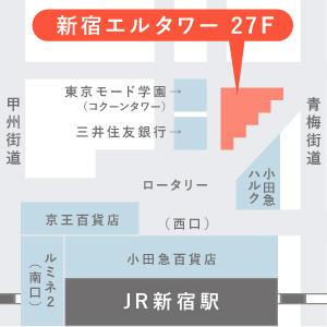 マイナビ東京オフィス地図