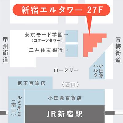 マイナビ 東京オフィス地図